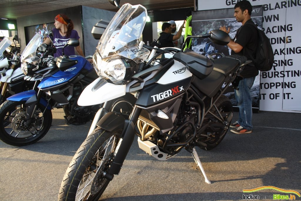 2015 Triumph Tiger 800 Xcr At Ibw 2015 Front White Sf Sonic Blog